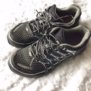 Merrell Black/Silver Women's Bare Access Shoes